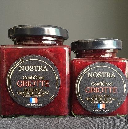 ConfiÔmel®️ GRIOTTE (100% Miel) 240g
