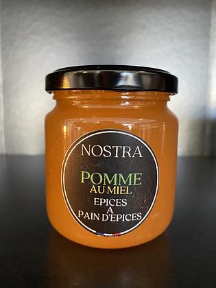 POMME au miel et Épices à pain d'épices 240g