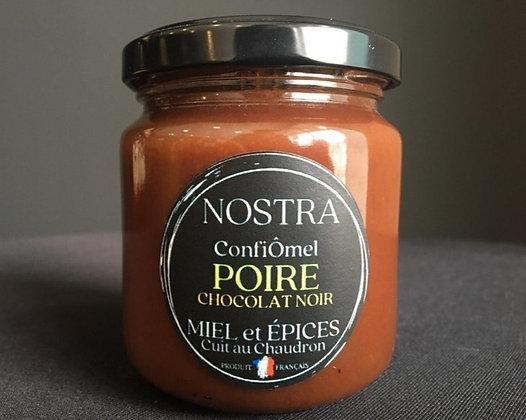 POIRE/CHOCOLAT NOIR au Miel 240g