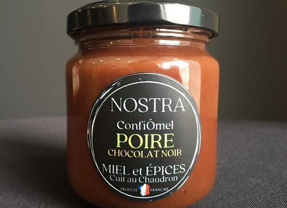 POIRE/CHOCOLAT NOIR au Miel