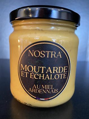 MOUTARDE miel et échalote 240g