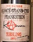 Kamm- Grand Cru Frankstein, Riesling1.jp