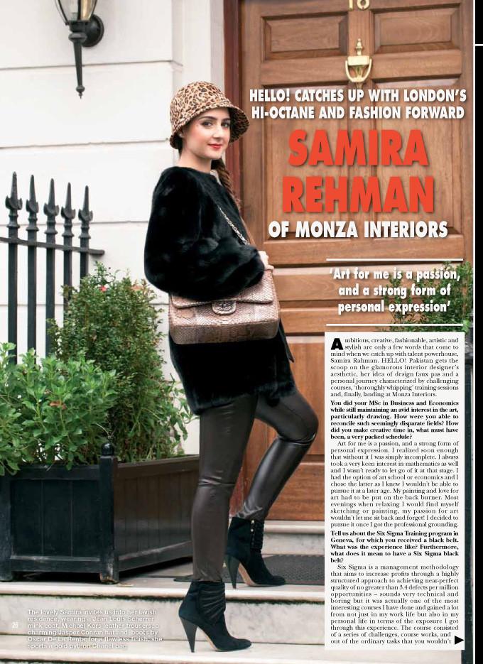Samira Rehan Of Monza Interiors