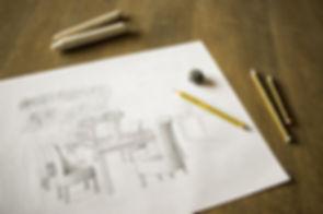 Гостиная Sketch