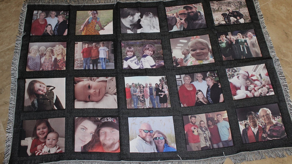 20 Panel Photo Blanket