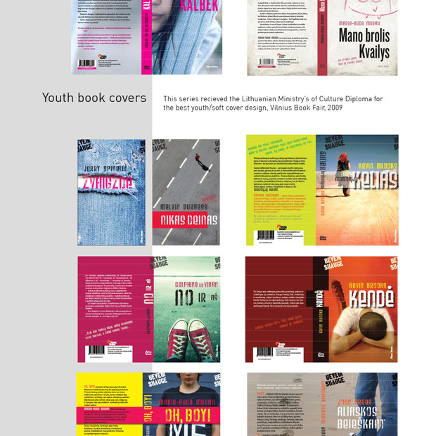 I have mainly designed youth books