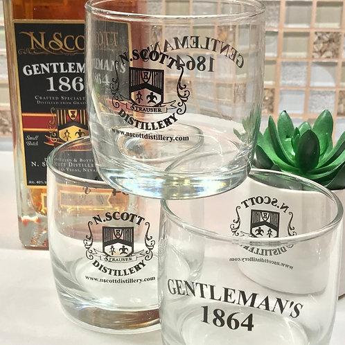 Gentleman's 1864 Rocks Glassware