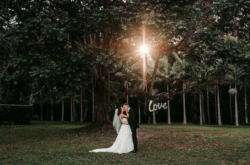 Coolibah private estate gold coast wedding venue