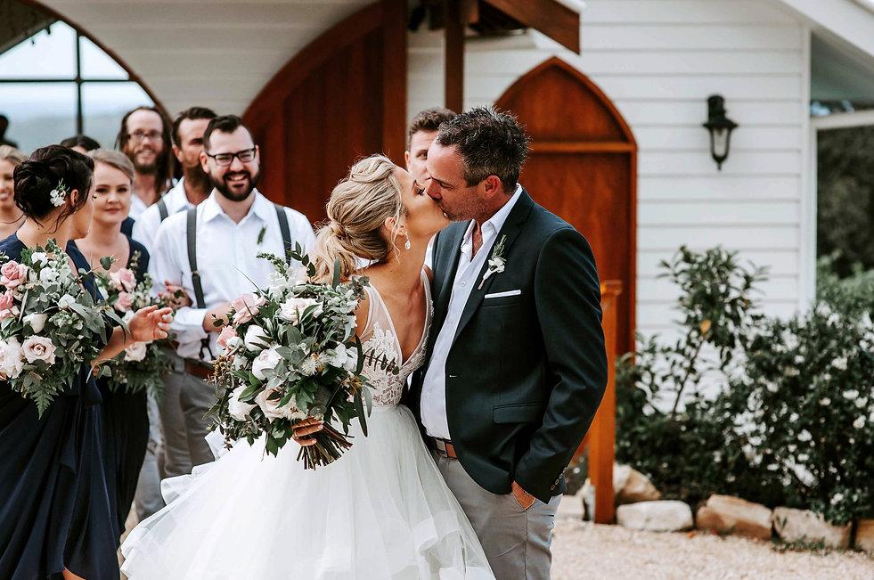 Summergrove estate wedding of Sally and Rick