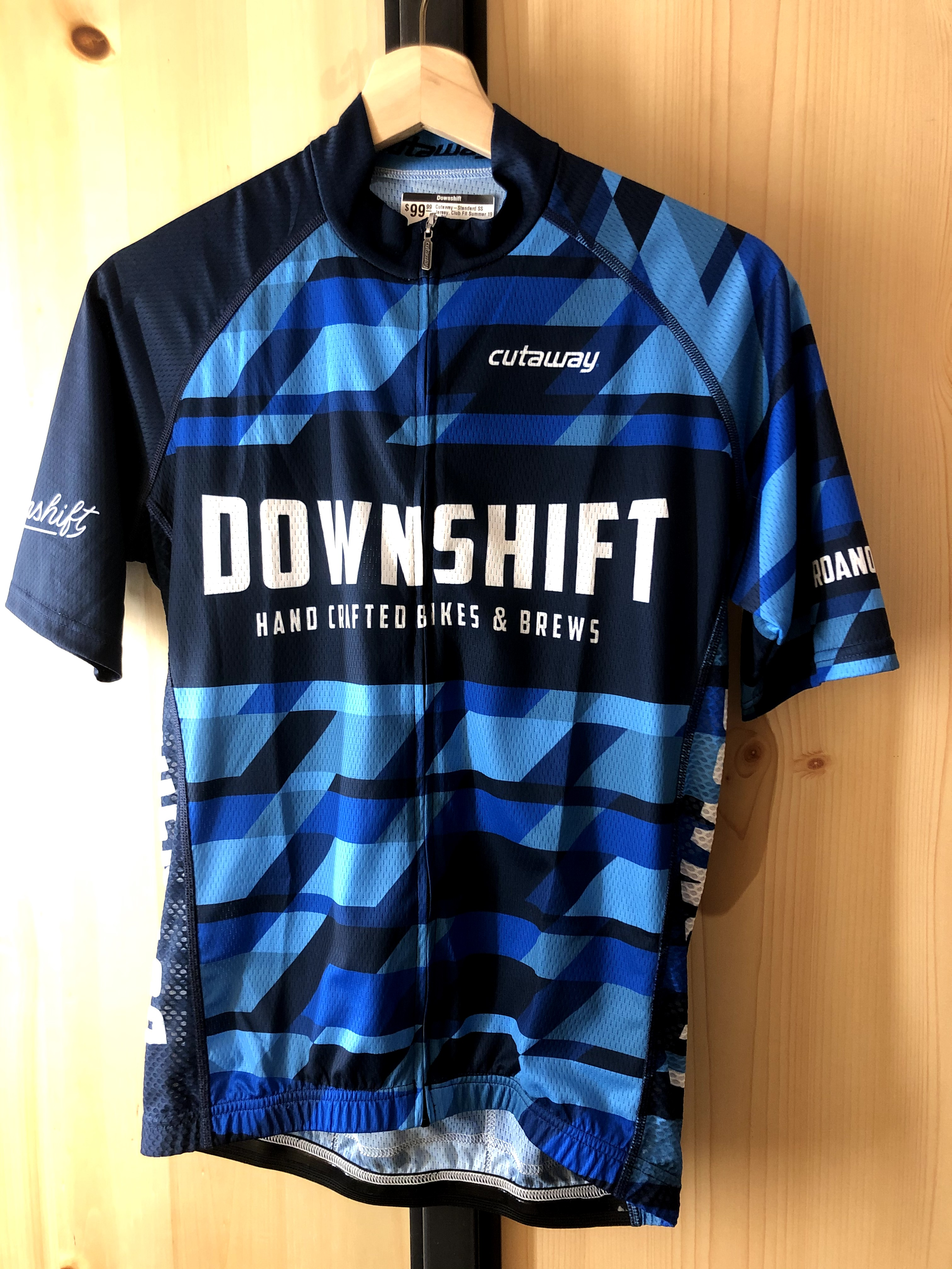 Downshift Cutaway Short Sleeve Jersey