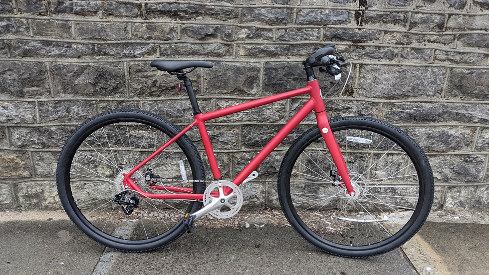 :roll Adventure Bicycle, Red