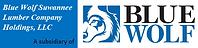 Blue Wolf Suwannee Lumber Logo.png