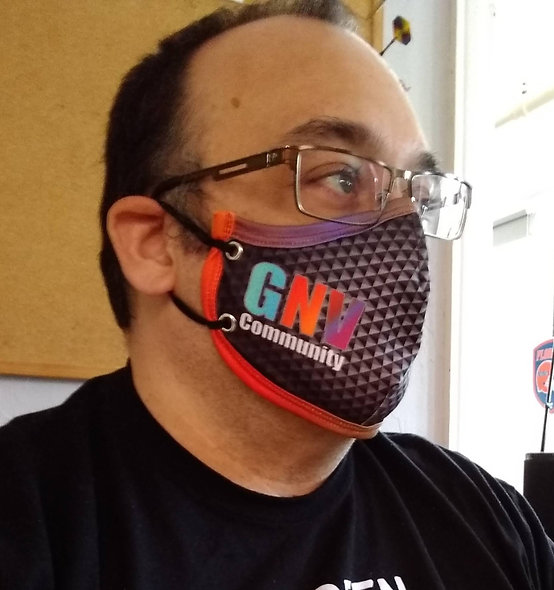Color GNV Community Face Mask