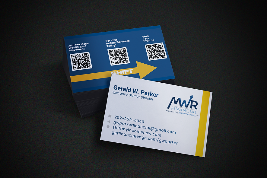 MWR Landscape Business Card