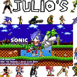 Julio's Bday Bash Green Screen