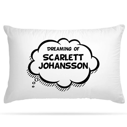 Personalised Pillowcase Dreaming of with Any Custom Name