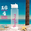 Thumbnail: Personalised Love Island Water Bottle Name Sticker 16 colours