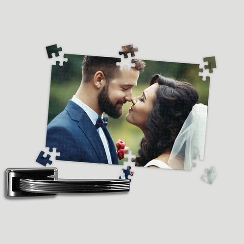 Personalised Fridge Magnetic Jigsaw Puzzle Gift