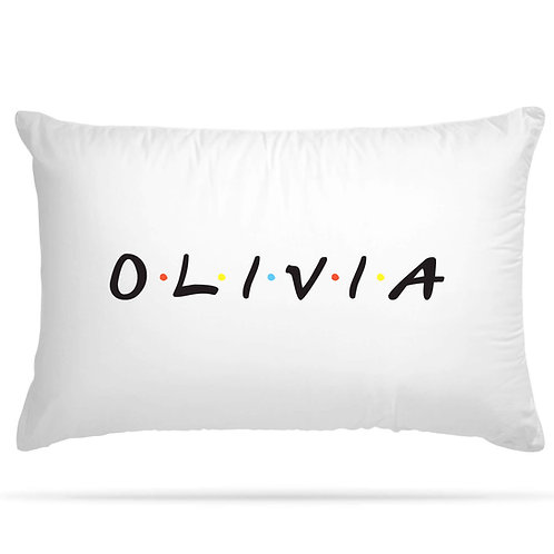 Personalised Friends Show Inspired Pillowcase