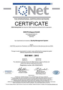 318329 - GCD Printlayout GmbH - certific
