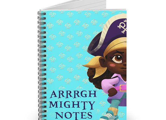 Arrrgh Mighty Notebook