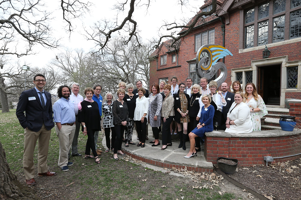 2018 Sweet Dreams committee and volunteers gather for a picture at the Lauridsen home in Des Moines