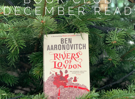 The Knackered Parents' Book Club reviews 'Rivers of London' by Ben Aaronovitch