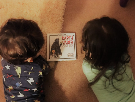 Picture Book of the week Darth Vader and son by Jeffrey Brown