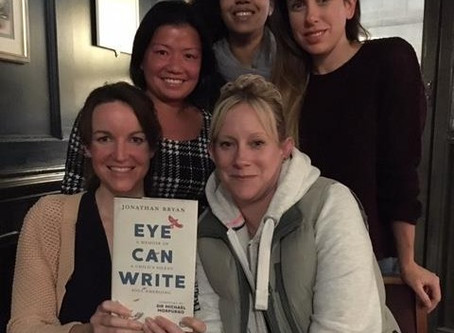 The Knackered Parents' Book Club reviews 'Eye Can Write' by Jonathan Bryan.