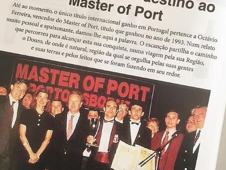 Uma viagem com destino ao Master of Port - na edição 165 d'O Escanção