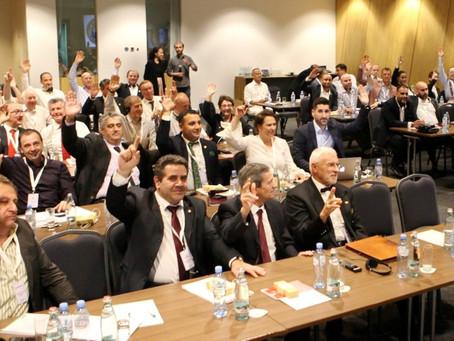 Uma assembléia geral de sucesso na Geórgia