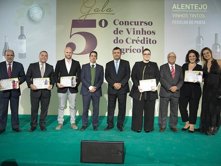 Crédito Agrícola distingue 71 Vinhos Nacionais em 5.ª edição do Concurso de Vinhos Crédito Agrícola