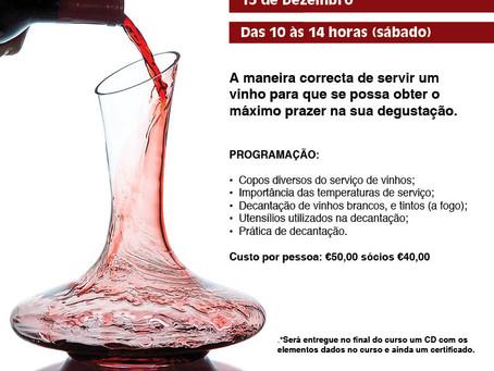 Serviço de Vinhos