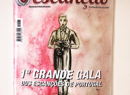 Grande Gala dos Escanções de Portugal na capa da mais recente edição d'O Escanção