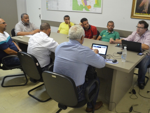Secretaria de Governo realiza reunião sobre a municipalização do trânsito no município