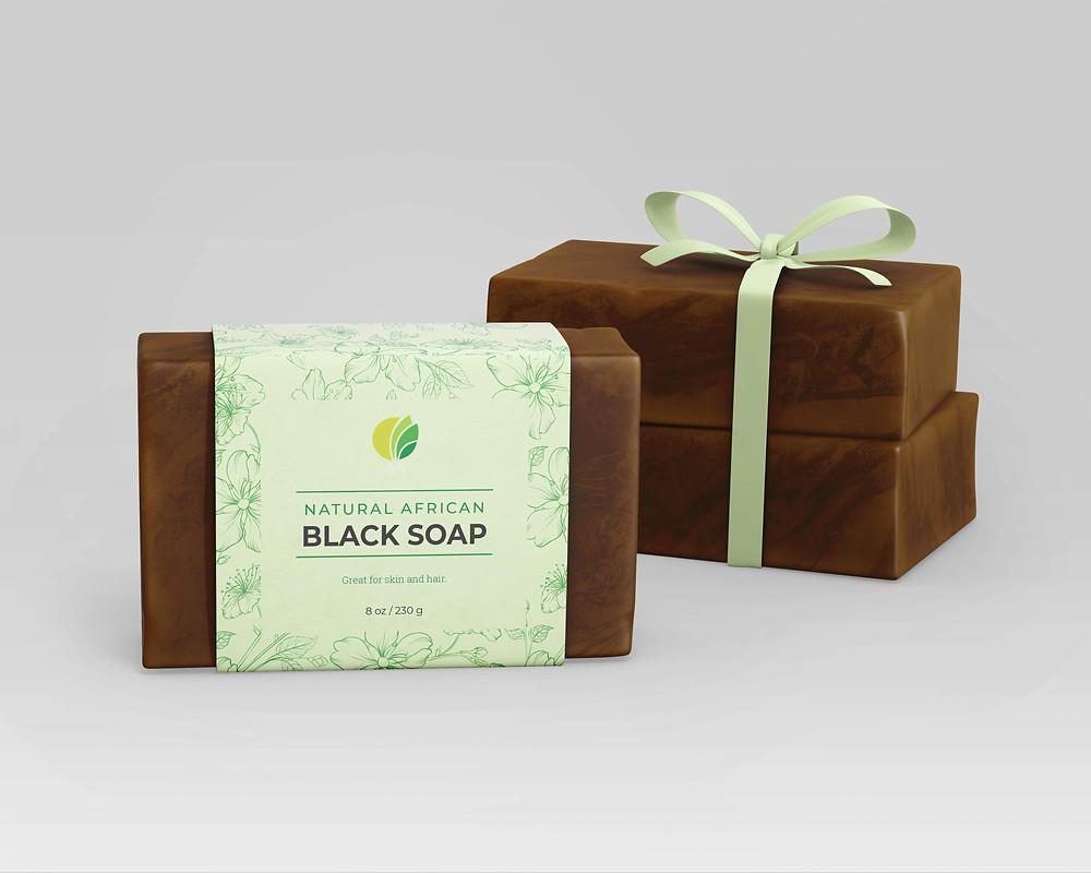 OTI African Black Soap - Aloe Vera Gel Scent