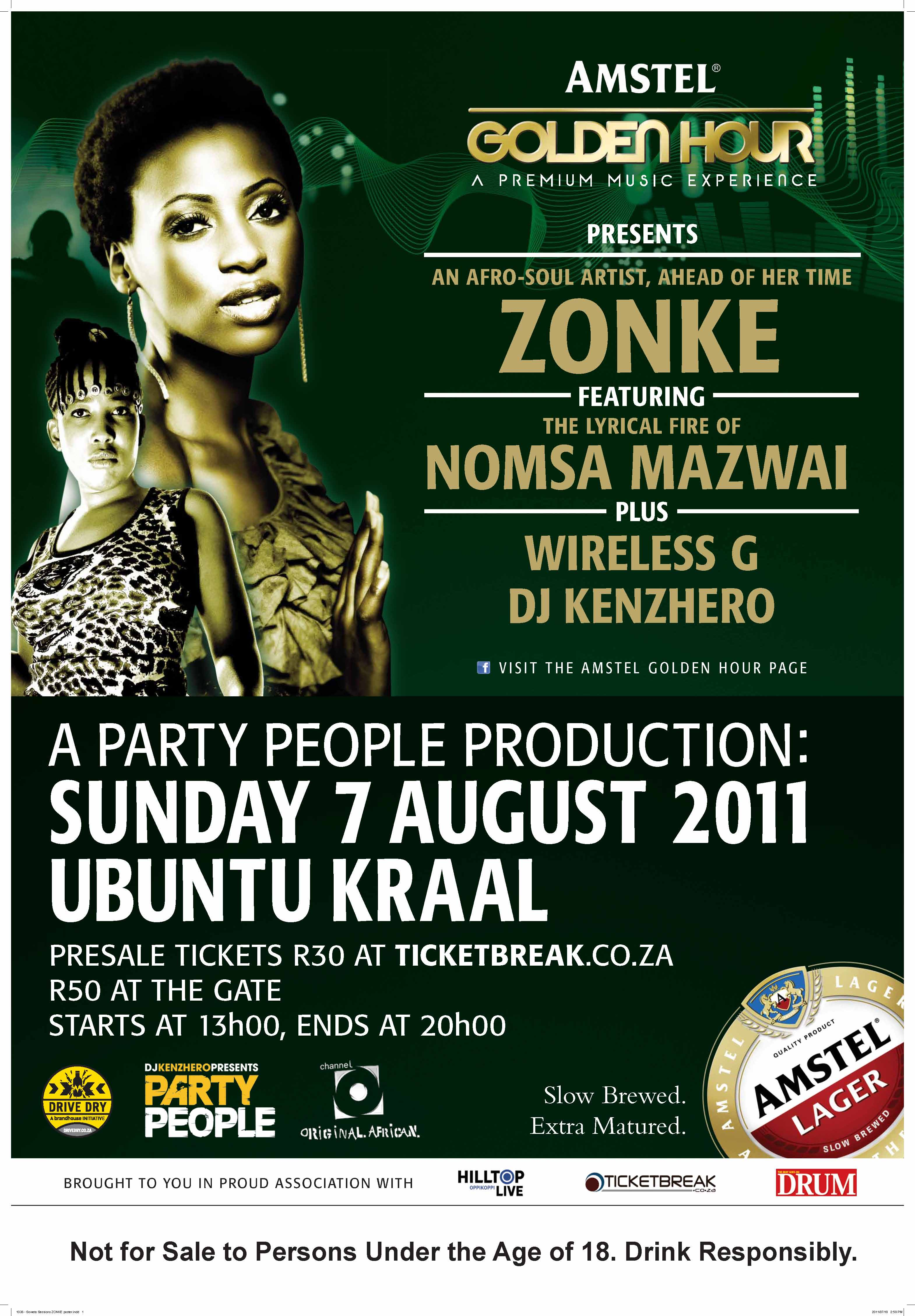 1036 - Soweto Sessions ZONKE poster (3)