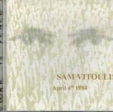 Artist: Sam Vitoulis Album: April 4th 1984 Label:Margen records Voices: Alex Warner
