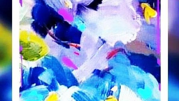 Serie Abstractos / 70x100cm