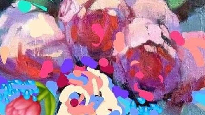 Serie Naturaleza (flores) / 35x50cm
