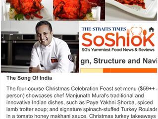 The Straits Times, SoShiok - Christmas Tandoori Turkey