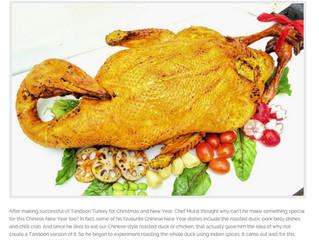 Taste of everything  - Tandoori Recipe for Chinese New Year