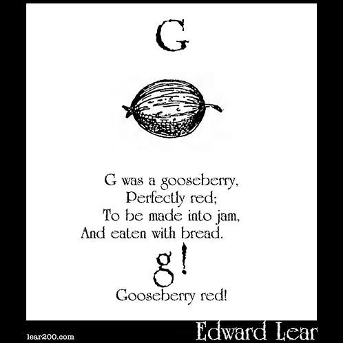 """""""G Was A Gooseberry"""""""