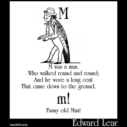 """""""M Was A Man"""""""