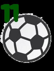 Axologia do Futebol sem devolutiva (11 UNID)