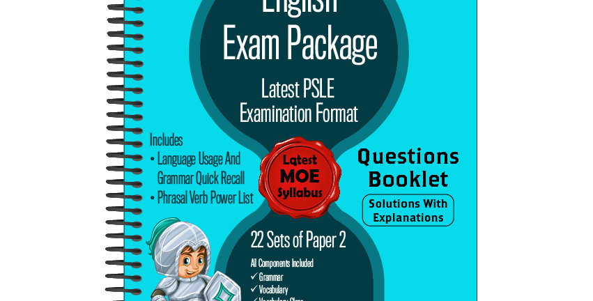 Primary 6 English Exam Package
