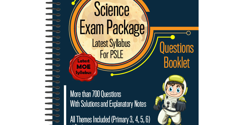 Primary 6 Science Exam Package
