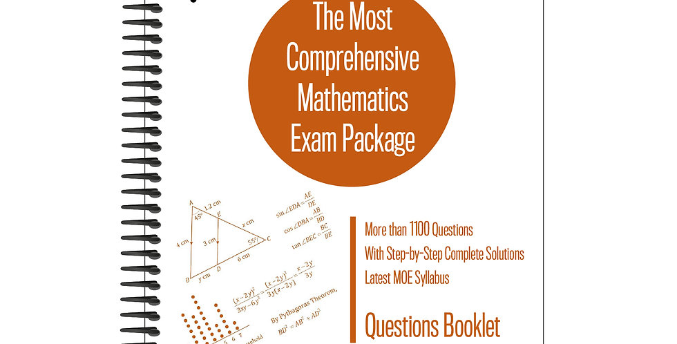 Secondary 2 Mathematics Exam Package