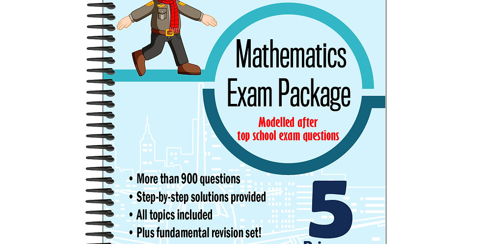 Primary 5 Maths Exam Package