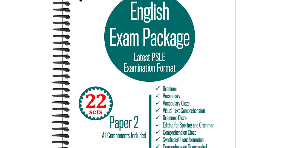 Primary 5 English Exam Package